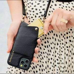 Bandolier EMMA Pebble Black/Gold Phone Case